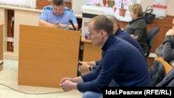 Александр Козенко во время суда по мере пресечения в январе 2020 года