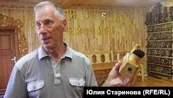 Создатель Музея рубанка Виталий Ислентьев