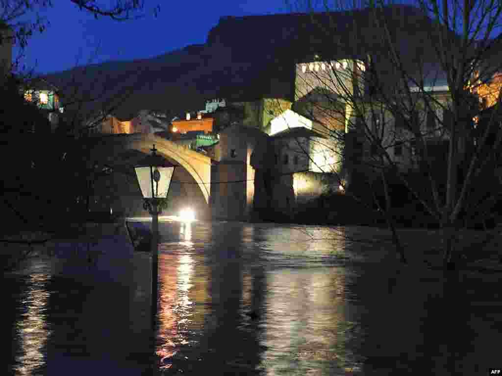 Поплави во реонот на Мостар 08.01.2010.