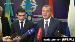 Вице-премьер России Юрий Борисов, Ереван, 12 сентября 2019 г.