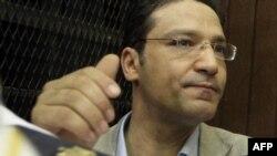 Журналист Ислам Афифи сот залында. Каир, Египет, 23 тамыз 2012 жыл.