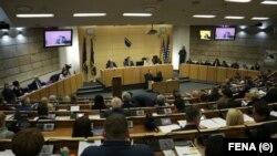Sjednica parlamenta FBiH