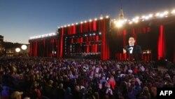Qırmızı meydanda konsert