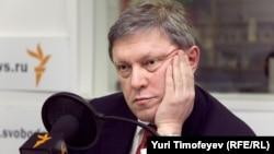 Григорий Явлинский Озодлик радиосининг Москвадаги бюросида, 2012 йил 16 январ.