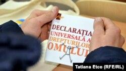 Campania 70 de ani de la adoptarea Declarației Universale a Drepturilor Omului la Sipoteni, Călăraşi
