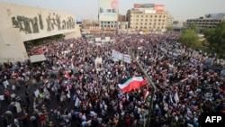 Учасники антикорупційних протестів в Іраку, 7 серпня 2015 року