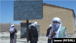 Taliban fighters in the Ghazni Province on May 1.