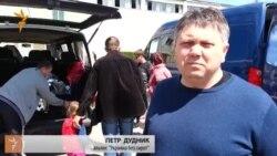 Эвакуация из Славянска