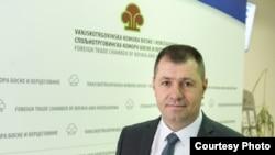 Претседателот на Надворешнотрговската комора на Босна и Херцеговина, Ахмет Егрлиќ