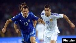 Тренер итальянской сборной озадачен результатом матча с Арменией