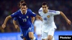 Իտալիա - Հայաստան խաղը Նեապոլում, 15-ը հոկտեմբերի, 2013թ․