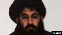 Главарь движения «Талибан» мулла Ахтар Мансур.