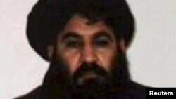Afghanistan -- Mullah Akhtar Mohammad Mansur, Taliban militants' new leader, is seen in this undated handout photograph by the Taliban