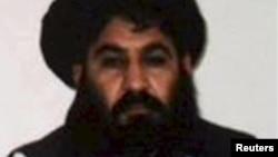 Mullah Akhtar Mansur (file photo)