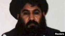 Afghan Taliban leader Mullah Akhtar Mohammad Mansur.