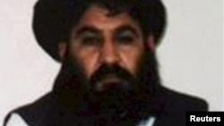 Taliban leader Mullah Akhtar Mansur (file photo)