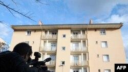 Здание в городе Безье, где был задержан один из подозреваемых