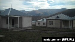 Armenia -- New government funded houses built in the earthquake zone, Lori region, 13Oct2010