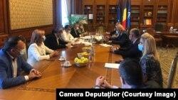 Întâlnirea lui Raed Arafat cu Victor Ponta, Marcel Ciolacu și Dan Barna