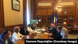 Întâlnire între Raed Arafat și Victor Ponta, Marcel Ciolacu și Dan Barna
