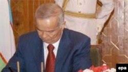 Үзбәкстан президенты Ислам Кәримов