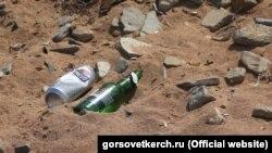 Пляж в Керчі, архівне фото