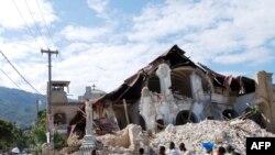 Гаити. После землетрясения, январь 2010 г