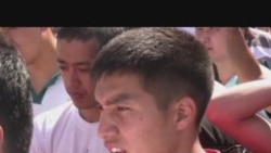 Уйгуры Алматы поминают погибших в Синьзяне