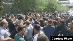 Բողոքի ակցիան Մեղրիում, 21-ը ապրիլի, 2021թ․