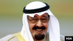 Король Саудовской Аравии Абдулла ибн Абдул-Азиз Аль Сауд.