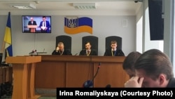 Юрій Ільїн свідчить у справі про державну зраду Віктора Януковича, Київ, 19 квітня 2018 року