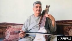 عبداللطیف امینی یکی سازندگان و نوازندگان موسیقی در ولایت هرات