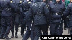 Сотрудники полиции Азербайджана. Иллюстративное фото.