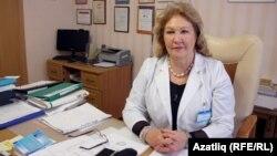 Татарстанның СПИДка һәм йогышлы авыруларга каршы көрәшү үзәге табибы Фирая Нәгыймова