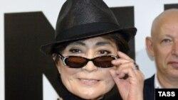 Йоко Оно, вдова участника музыкальной группы The Beatles Джона Леннона.