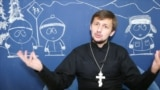 Belarus - Alyaksandr Kukhta is an Orthodox priest for a small parish in Belarus who blogs on YouTube - screen grab