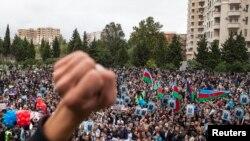 Шэсьце аб'яднанай апазыцыі ў Баку 5 кастрычника сёлета