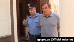 Анатолій Войцехівський під час затримання