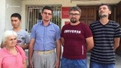 В Бахчисарае за присутствие на обысках оштрафовали крымского активиста (видео)