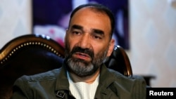 Former militia commander Atta Mohammad Noor had been governor of Balkh Province since 2004. (file photo)