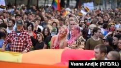 Prajd u deset slika: LGBT zastave u glavnom gradu Srbije