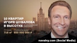 Игорь Шувалов, коллаж ФБК