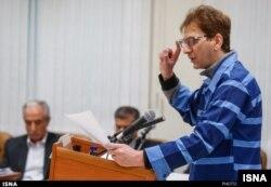 بابک زنجانی در دادگاه چهارم ۹ آبان ۹۴