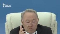Назарбаев демократия туралы тағы айтты