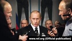 "Плакат организации ""Репортеры без границ"""