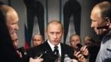 "Владимир Путин. Плакат организации ""Репортеры без границ"""