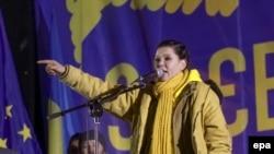 Певица Руслана активно участвовала в митингах на Майдане