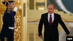 Владимир Путин в Кремле (архивное фото)