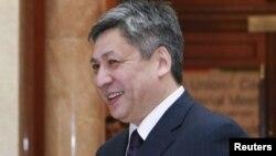 Қырғызстан сыртқы істер министрі Эрлан Абдылдаев.