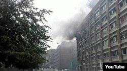 Осла, выбух 22 ліпеня 2011